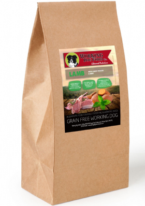 Grain Free Working Dog Food Co. Lamb With Sweet Potato & Mint